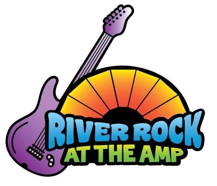 River Rock at the Amp Logo