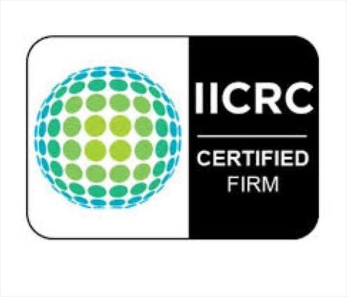 Corporate shield of the IICRC (Institute of Inspection Cleaning and Restoration Certification)
