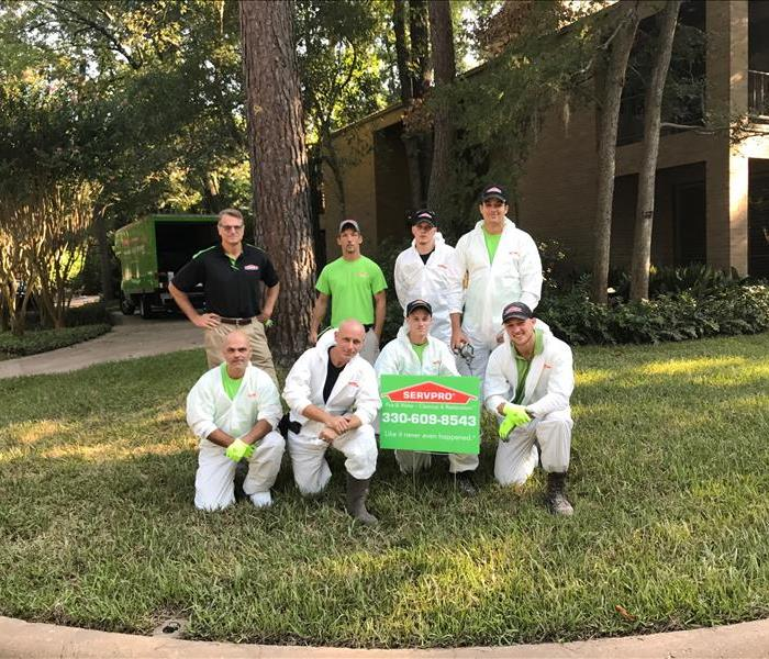 Storm Damage SERVPRO Storm Team in Houston