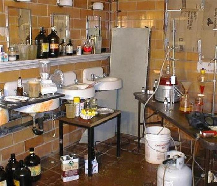 Commercial Meth Lab Cleanup