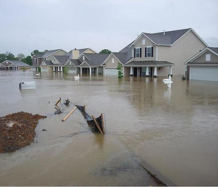 Water Damage Flooded Homes in Boardman, Ohio