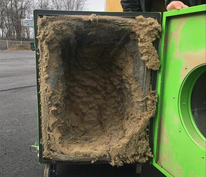 Commercial Contaminated Air (Duct Cleaning)